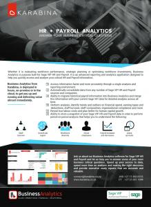 HR Payroll Brochure