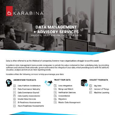 Data Management Brochure