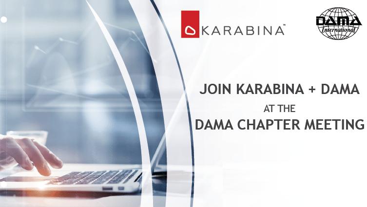 DAMA Chapter Meeting Blog Image