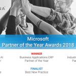 Microsoft Partner Award 2018 wins