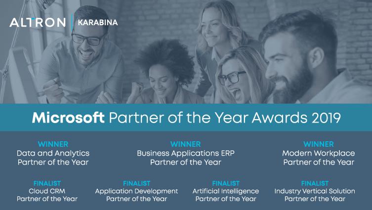 Microsoft Partner Awards 2019