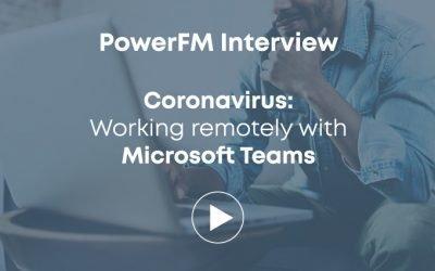 Remote working on Microsoft Teams